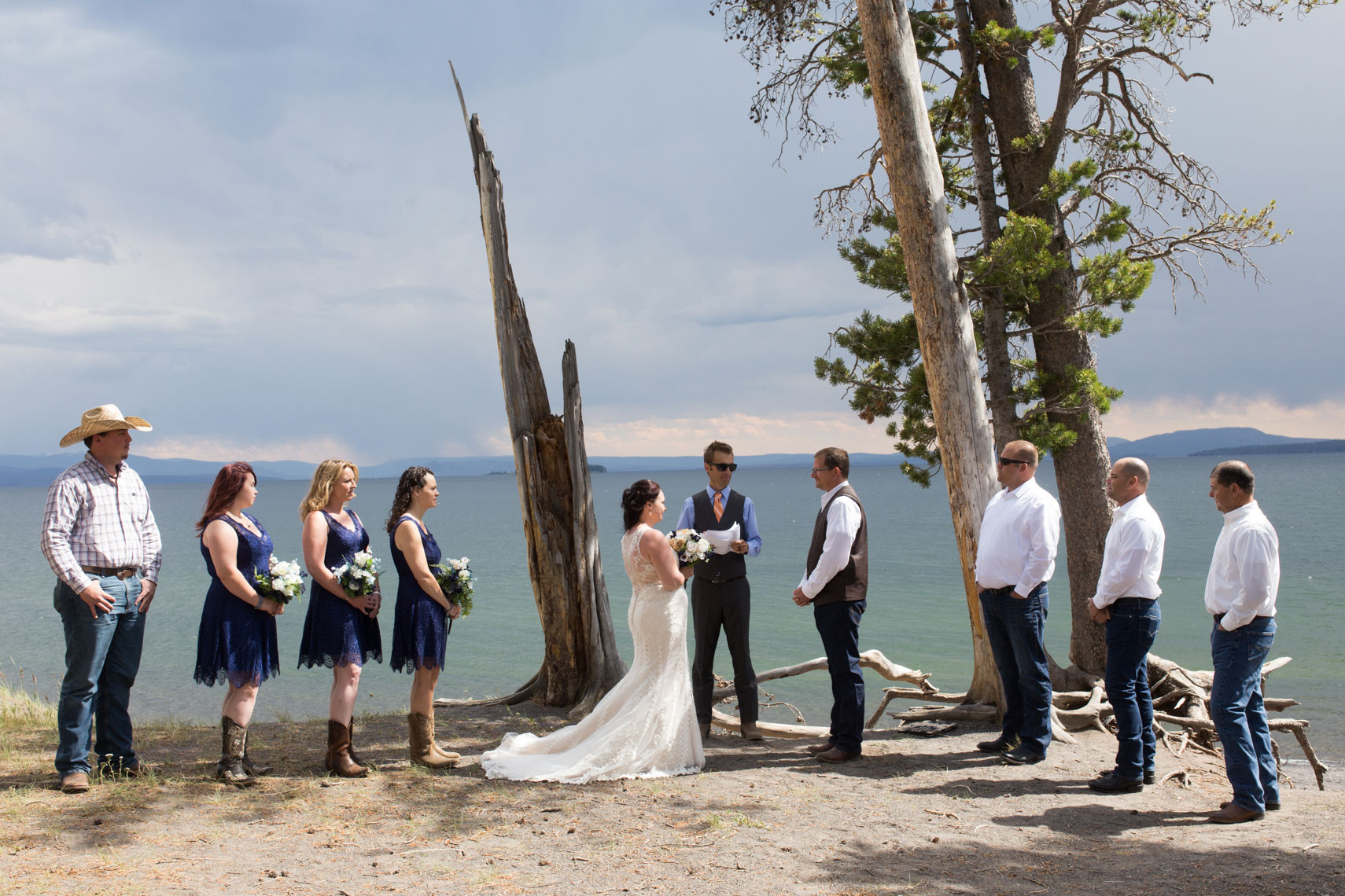 Yellowstone Lake Wedding