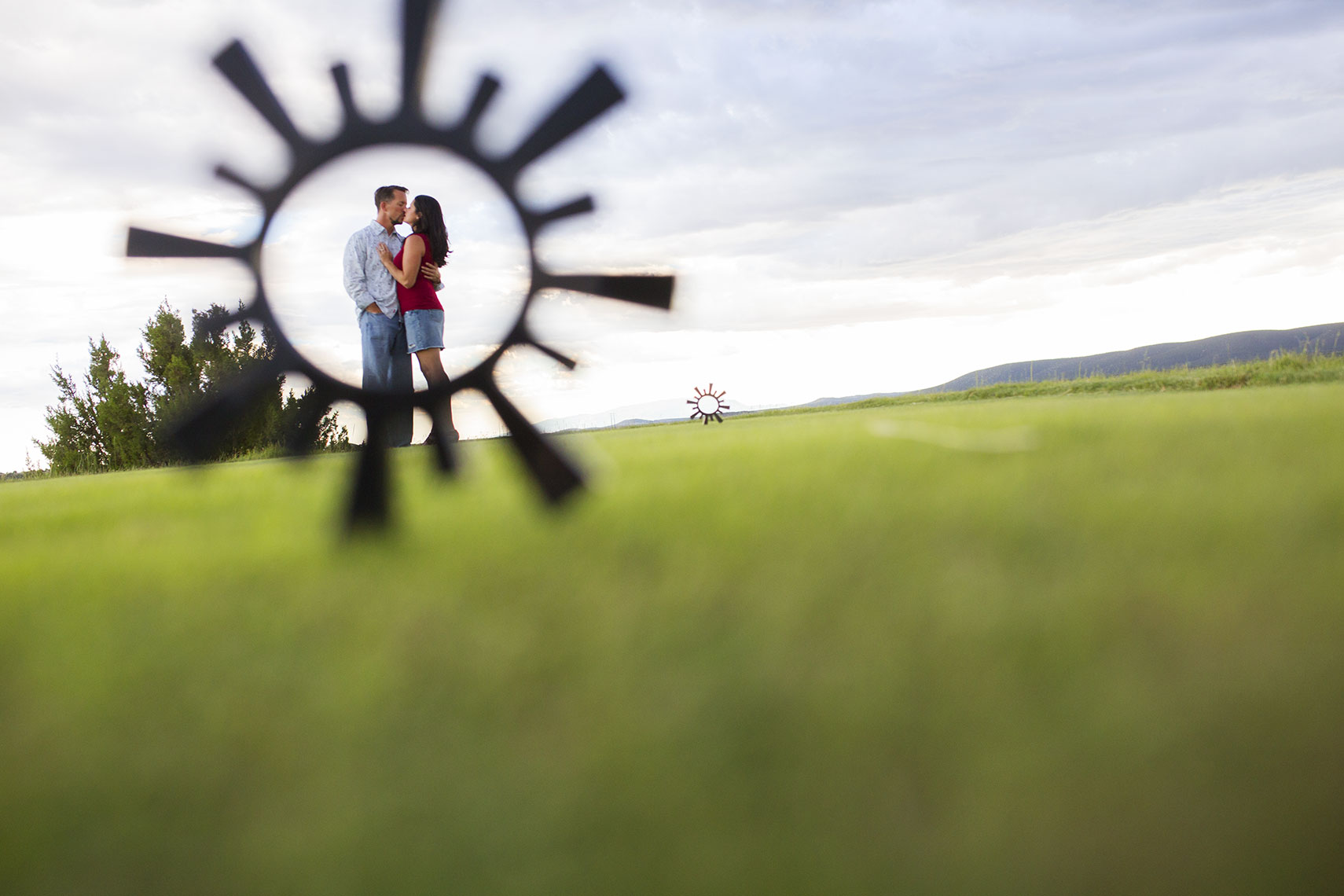 Las Campanas Engagement Photography in Santa Fe