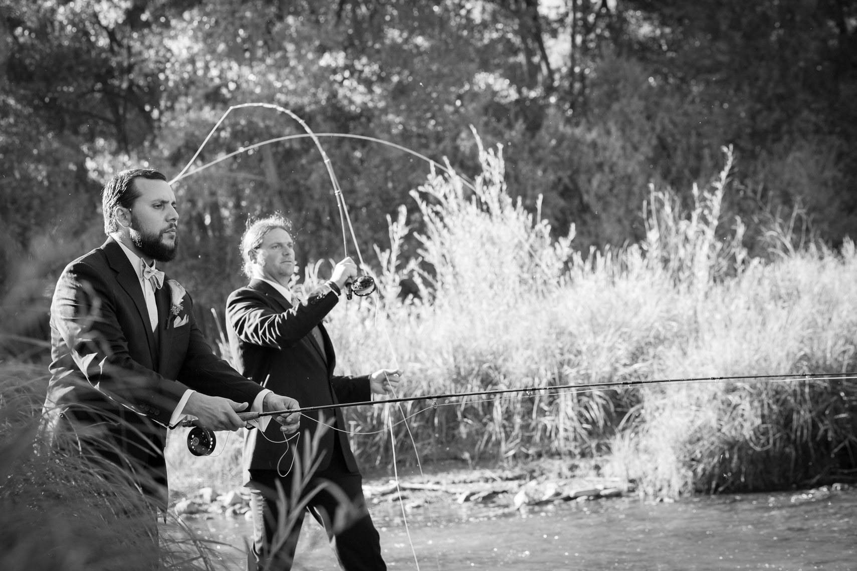 Groomsmen Fly Fishing