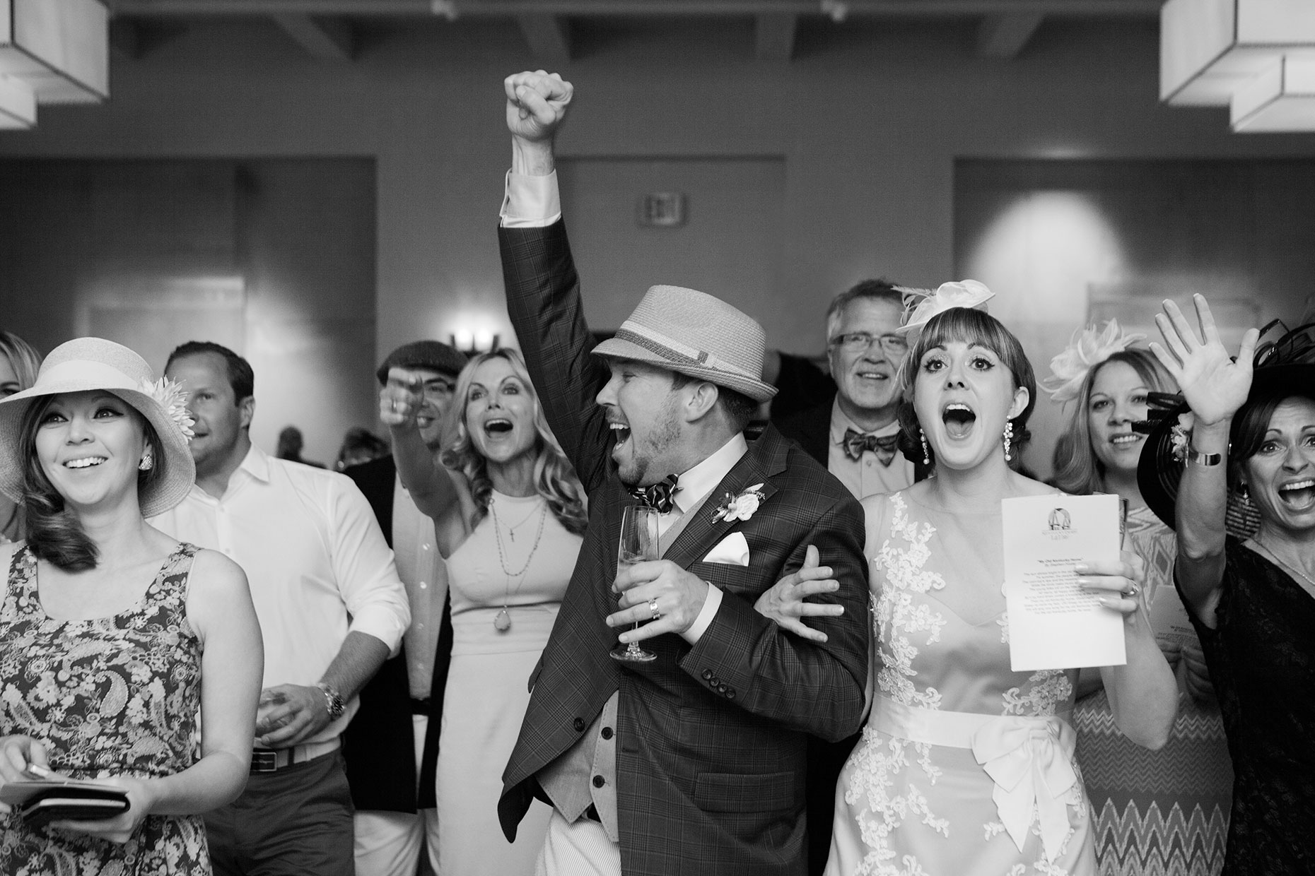 Kenticky Derby Wedding at Four Seasons Resort, Santa Fe