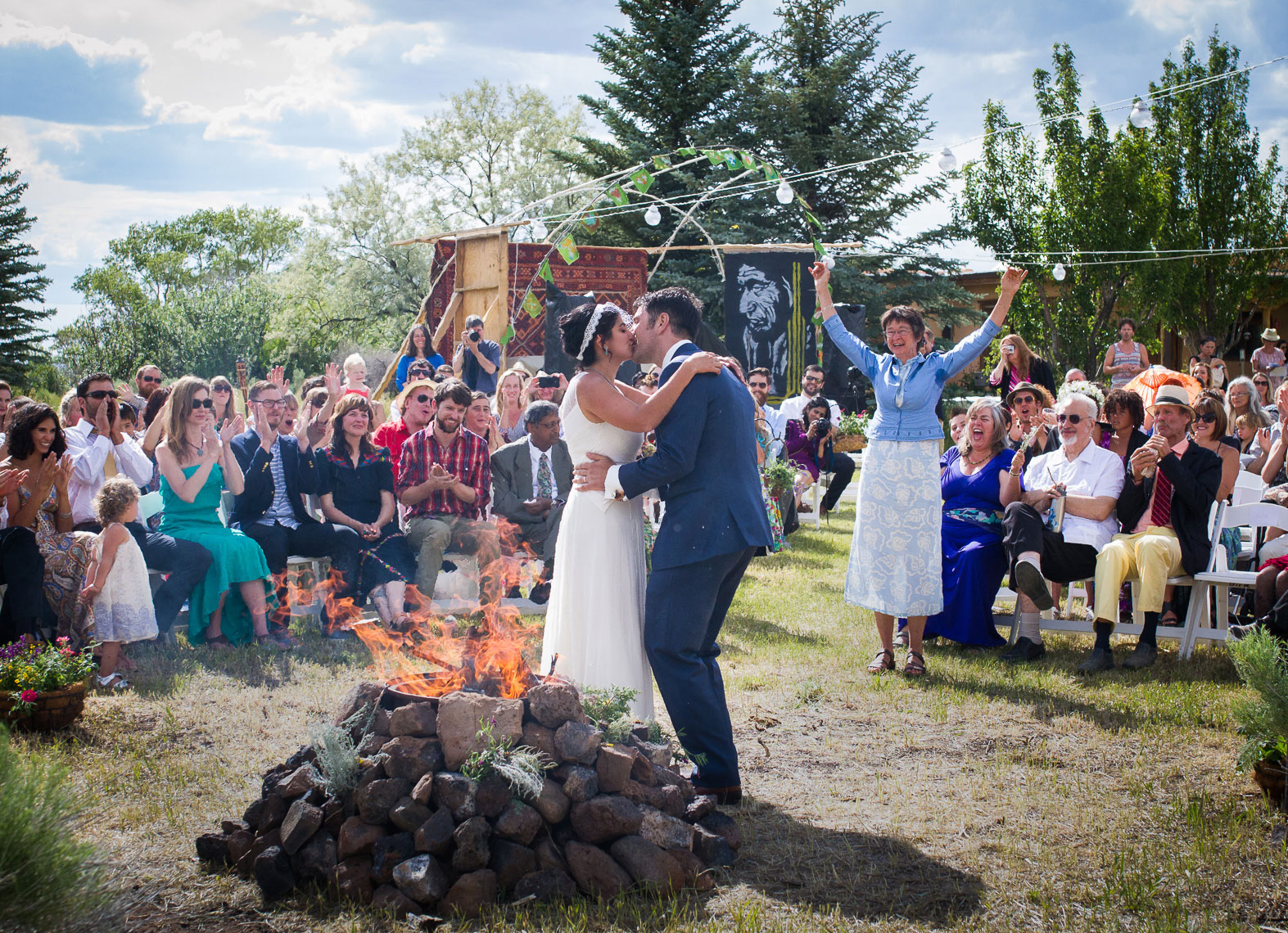 Taos Rustic Wedding